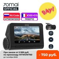 70mai Dash Cam 4K A800S GPS ADAS 70mai A800S Car DVR 2160P supporto telecamera posteriore vista registratore telecamera per auto 24H parcheggio 140FOV