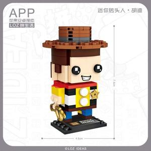 Image 3 - Mini klocki LOZ zabawka z klocków śnieżka lalka księżniczka dziewczyna postać figurki montaż budowlany klocki zabawkowe edukacyjne