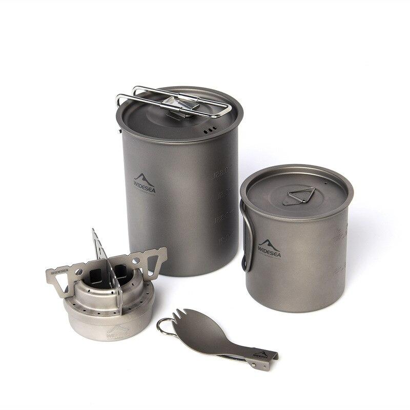 livre equipamentos cozinha talheres titânio fogão a