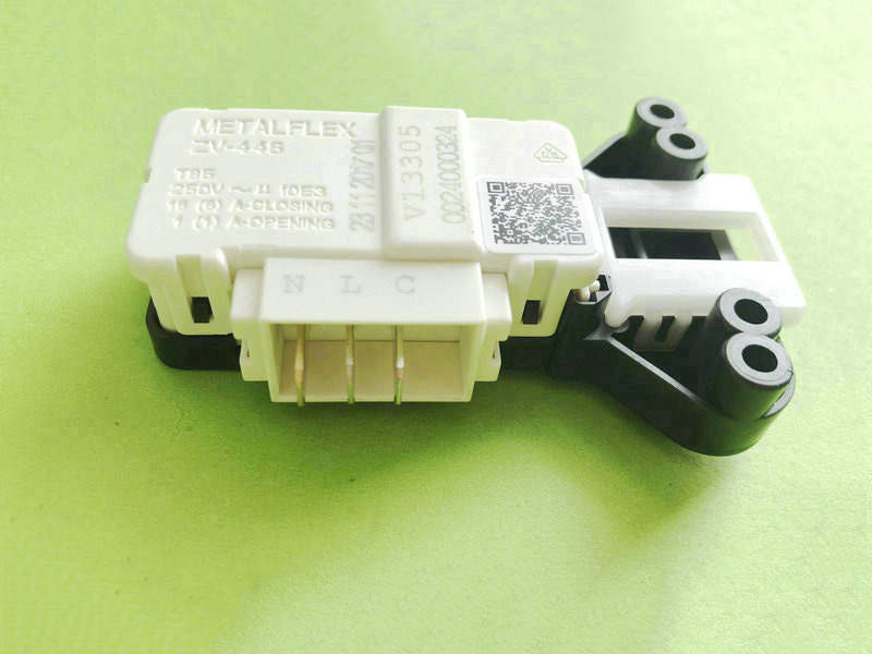 New Original For Washing Machine Electronic Door Lock Delay Switch ZV-446L5 DC64-01538A METALFLEX ZV-446 3 Insert