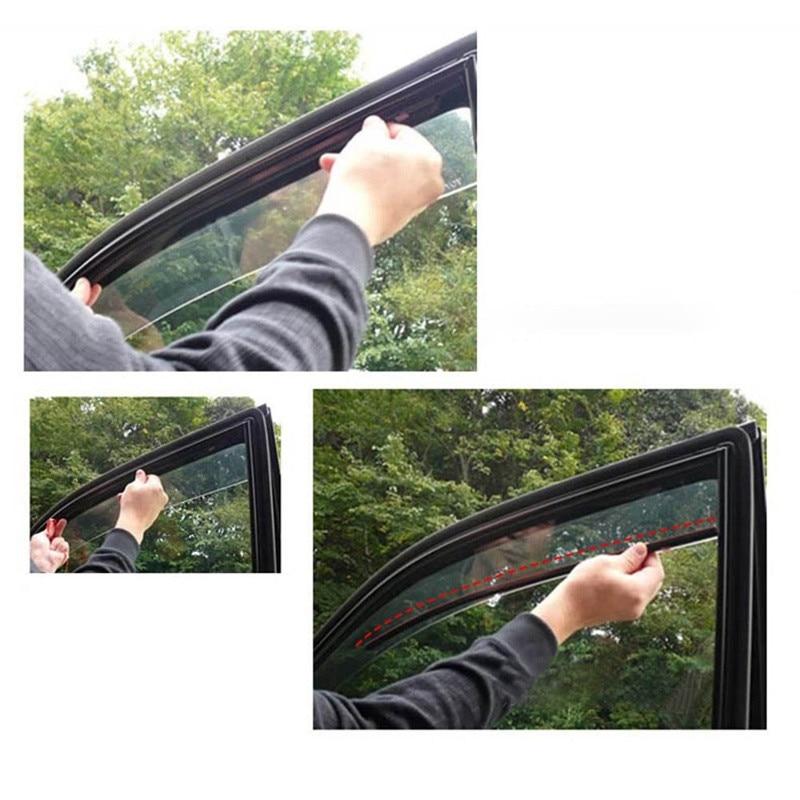 lowest price 2pcs Universal Sunshade Car Curtain Car Side Window Sunshade Curtains Auto Windows Curtain Sun Visor Blinds Cover Car-Styling
