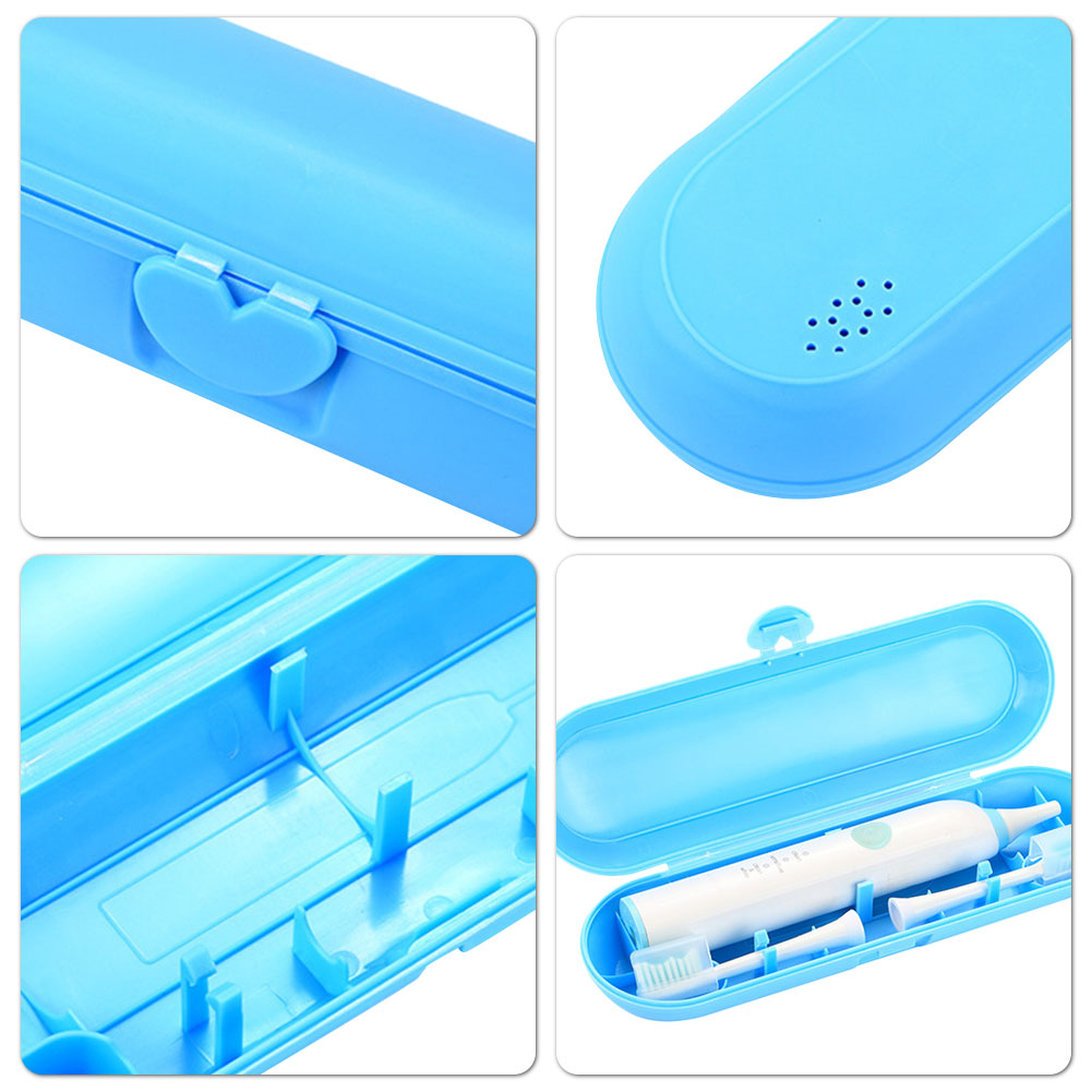 Открытый портативный электрический зубная щетка держатель путешествия зуб щетка ящик для хранения чехол подходит для Philips Oral-B и другое