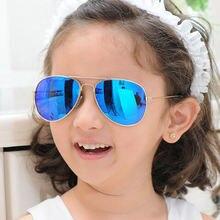 2021 классические солнцезащитные очки для девочек Красочные