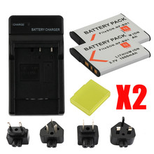 цена на RP for NP-BN1 np bn1 NPBN1 battery + LCD USB charger for sony DSC WX220 WX150 DSC-W380 W390 DSC-W320 W630 camera