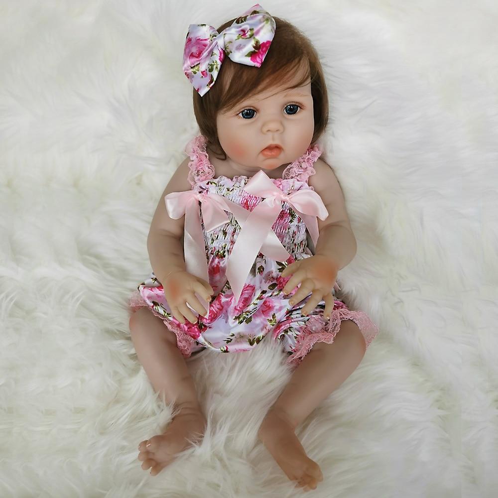 OtardDolls Bebe bebé Reborn muñeca 20 pulgadas 50cm completo de silicona vinilo bebé Reborn muñecas Adorable realista Niño para regalo Fast Shi - 3