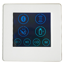 HOT-4 Inch Embedded Family Hotel Smart Home Background Music Player Host Controller Amplifier H86B