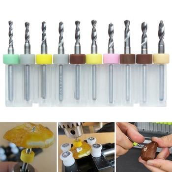 цена на Newly 10 Pcs PCB Micro Drill Bits Carbide Durable for Print Circuit Board Jewelry Wooden DAG-ship