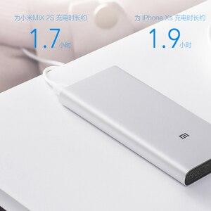 Image 5 - شاومي مي 3 برو بنك الطاقة 10000 mAh اتجاهين تهمة سريعة USB C المزدوج المدخلات الناتج PLM12ZM 10000 mAh Powerbank للهاتف المحمول