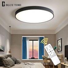 White&Black Finished Home Modern LED Chandeliers For Kitchen Bedroom Living Room Dining Room Fashion LED Chandeliers AC 110V220V