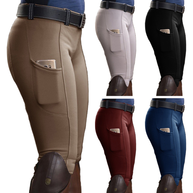 Womens Horse Racing  Spandex Trousers For Equestrian Riding Exquisite Design  3