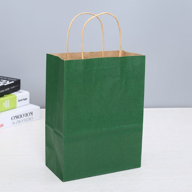 Image 3 - Paper Bags 50 Pcs Gift Bags, Party Bags, Shopping Bags, Kraft Bags, Retail Bags, Party Bags,  Paper Bags with HandlesGift Bags & Wrapping Supplies   -