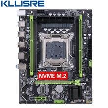 Kllisre placa base con chip X79 LGA2011, USB 3,0, SATA3, PCI E, NVME, M.2, SSD, compatible con memoria REG ECC y procesador Xeon E5