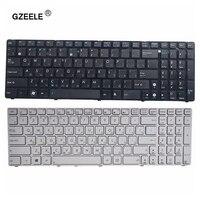 RU Para ASUS X55A GZEELE X52 X52F X52J X52N X52JC X52JR X52J X52JU X52DE X55 X55C X55U G72 G73 G72X g73J Teclado Branco/preto RU ru keyboard keyboard for asus asus x55a -