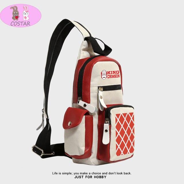 COSTAR Anime jojo's bizarre adventure Cosplay Backpack Chest bag Shoulder Bag School Street Harajuku Fashion 5