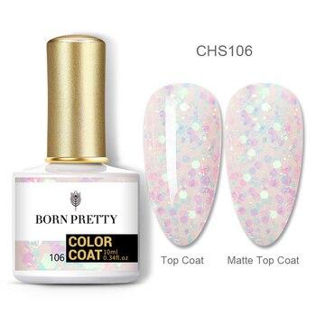 BORN PRETTY Nail Gel 120Colors 10ml Gel Nail Polish Soak Off UV LED Gel Varnish Holographics Shining Nagel Kunst Gellack 18