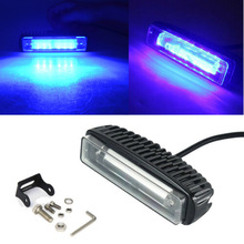 2x 12V 30W Waterproof Blue Boat Spreader LED Deck Marine Lights Flood Light