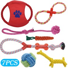 Pet Toys with Suction Cup Dog Push Toy with TPR Ball Pet Tooth Cleaning Chewing Rubber Dog Toys for Small Dogs Rubber Dog Toy