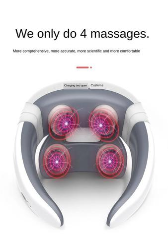 casa pulso magnetico acupuntura pescoco massageador alivio