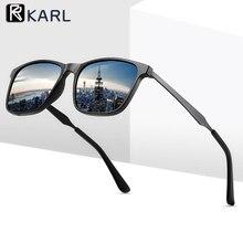 Retro Polarized Sunglasses Men Women Driving Square UV400 Fashion Male Female Mirror Sun Glasses Wholesale