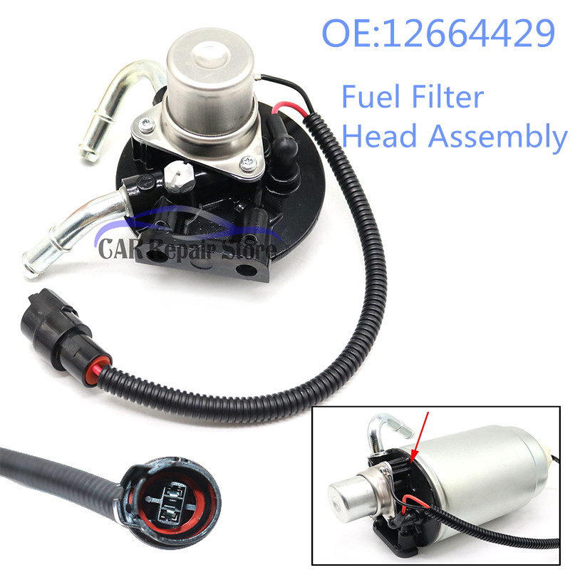 [SCHEMATICS_44OR]  For Chevy Chevrolet GMC Fuel Filter Head Assembly with Heater 12642623  12664429 For Duramax V8 6.6L Fuel Filter Part|Fuel Filters| - AliExpress | Gm 12642623 Fuel Filter |  | AliExpress
