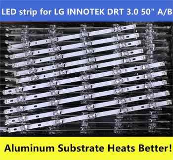 (New Original)10 PCS/set LED strip for LG 50LB650V 50LF6000 INNOTEK DRT 3.0 50 inch A B 6916L-1982A 1983A 6916L-1781A 1782A - DISCOUNT ITEM  0% OFF All Category