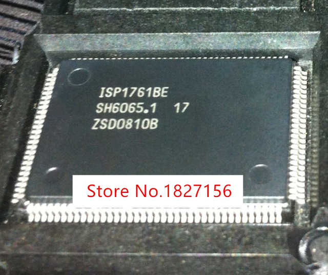 10PCS  ISP1761BE 1761BE QFP128 and original In Stock Hi Speed Universal Serial Bus On The Go controller IC NEW