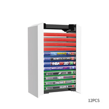 12 In 1 Game Discs Storage Box Universal Bracket Tower for Xbox One Switch PS5/PS4 Blue Ray Gaming Disk Stand Holder Accessories