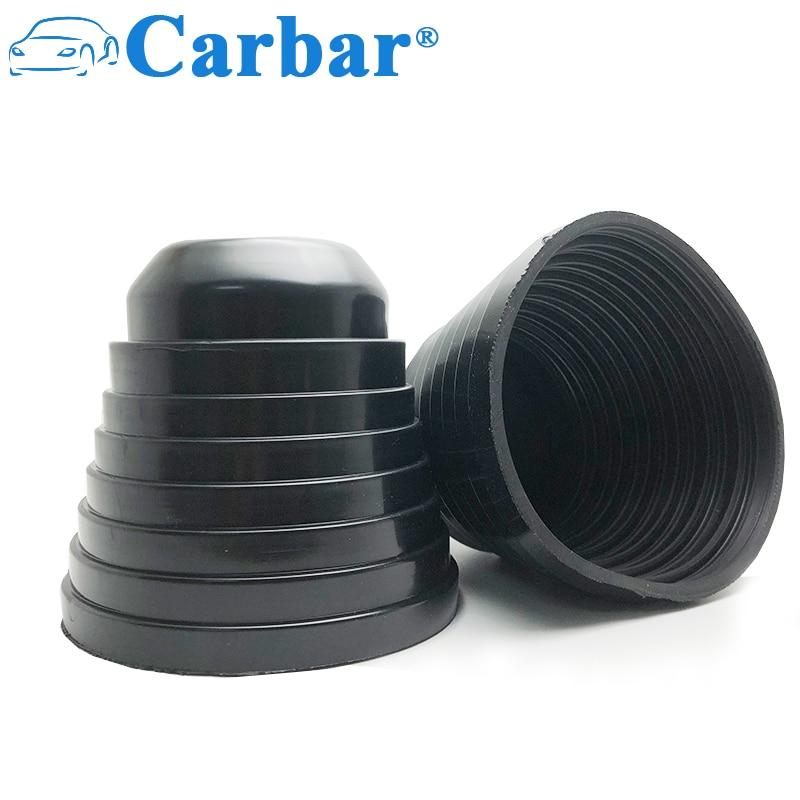 2Pcs Universal LED Headlight Cap Seal Dust Cover Car Headlight Dust Cover 65mm 70mm 75mm 80mm 85mm 90mm 95mm 100mm Dust Cap