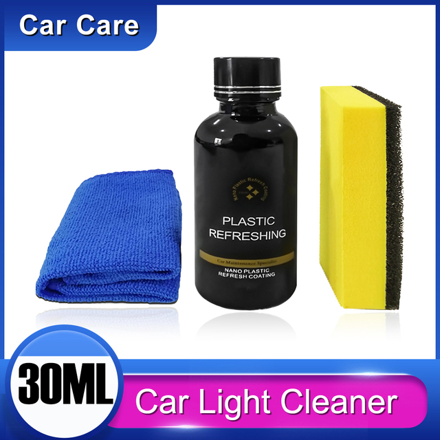 30ml części z tworzyw sztucznych bieżnikowanie Agent wosk Instrument Panel wnętrze auta Auto plastikowe odnowione powłoki światła samochodowe Cleaner CHEGIT1 tanie i dobre opinie GISAEV CN (pochodzenie) 0 09kg Car cleaning QM193290-BK1 10cm silicon dioxide+resin Środki do czyszczenia lakieru