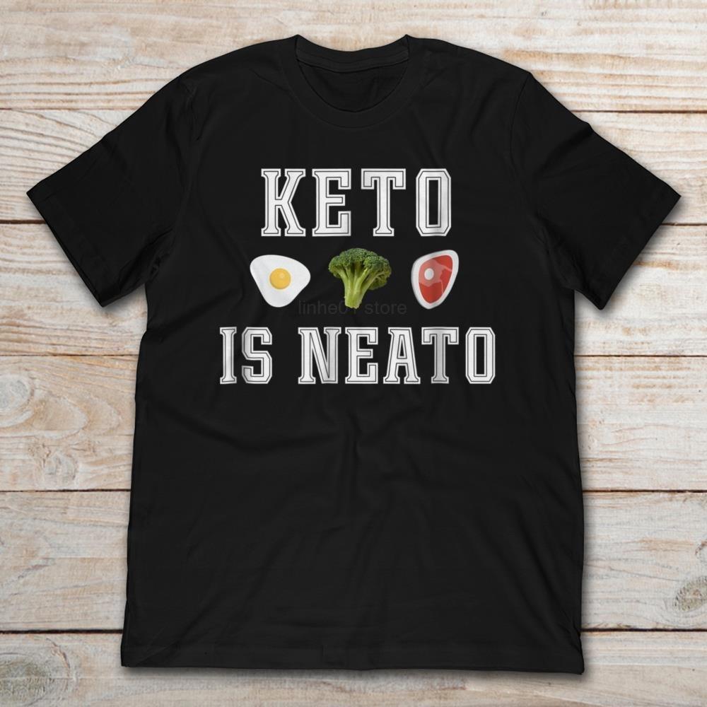 Keto Is Neato Ketogenic Diet 2019 Summer men's Short Sleeve t-shirt