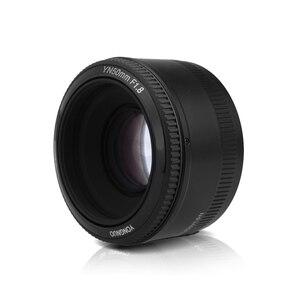Image 5 - YONGNUO YN EF 50mm f/1,8 Objektiv AF 1: 1,8 Standard Prime Objektiv Blende Auto Focus für Canon EOS 60D 70D 5D2 5D3 600d DSLR Kameras