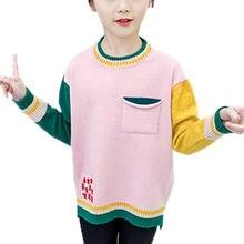 Свитера для маленьких девочек модные разноцветные детские свитера
