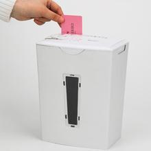 3-sheet Strip-cut Paper,a4 Desktop Electric Paper Shredder With 10l Wastebasket Home Office Shredder, Overheating Protection