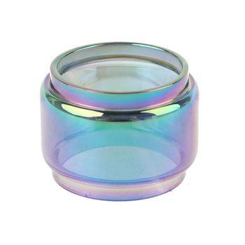 Tęczowa szklana rurka z pyreksu Fatboy szklany zbiornik zamiennik dla iJust 3 zestaw atomizera E papierosy akcesoria Vape tanie i dobre opinie Drip Tip CN (pochodzenie) Lens Ring Żywica for iJust 3 Atomizer Kit