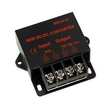 цена на 12V to 5V 24V to 5V 3A 5A 10A 15A DC DC Converter Regulator Car Step Down Reducer 12V/24V to 5V 10A 15AMP