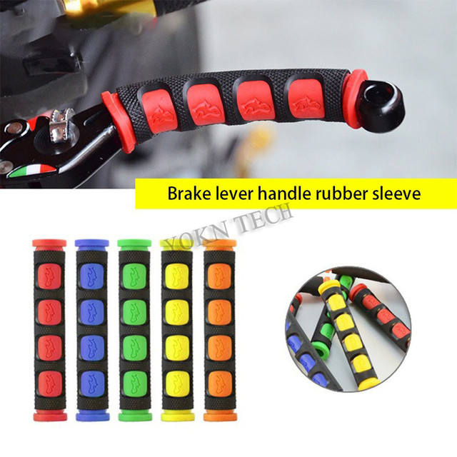 Motorcycle Brake Lever Rubber Sleeve Anti-Skid For YAMAHA yzf r125 fz6n yzf-r1 yzf r6 tmax 500 smax 155 For HONDA nc 700x dct