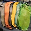 Poliert Echten Seltene sonder haut natürliche perle fisch leder Orange teufel haut, große größe Manta Ray Fisch Haut für tasche gürtel diy