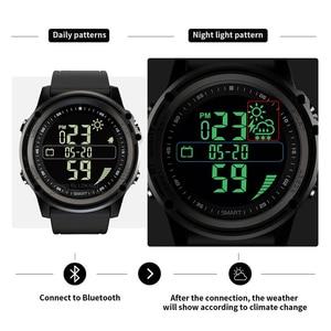 Image 3 - Lokmat bluetooth smartwatch esportes pedômetro 5atm à prova dreal água tempo real relógio digital relógio inteligente masculino para ios & android
