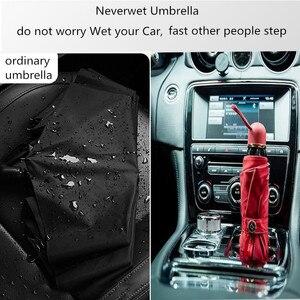 Image 4 - مظلة نيفرويت مع طلاء نانو Superhydrophobic مسعور مزدوج قوي مقاوم للريح 2019 مظلة عالية التقنية