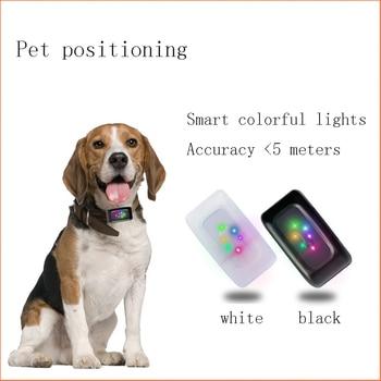Nuevo localizador de perro por GPS LBS mascotas Rastreador Mini GPS inteligente para perro gato en tiempo Real aplicación localizador Rastreador 1