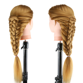 Mannequin Head With Hair Training Head Mannequin Heads For Hairdressing Long Hair Doll Training Practice Head Manniquin Heads practice braiding mannequin head with hair black training head hair doll head mannequins for sale hairdressing head female