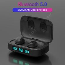TWS H01 Bluetooth Headset 5.0 Wireless Mini In-Ear Sports Mobile Power