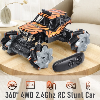 cool stunt remote control motorcycle deformation 2 4g mini rc motorcycle drift light concept flip cars led lights for kids gift 4WD RC Car Radio Gesture  Drifting Cars Light Twist Stunt Remote Control Rc Cars Off Road Drift Remot Control Stunt Car Model