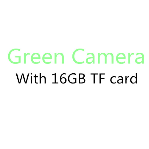 Green with 16GB card