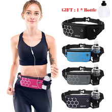Mens Waist Running Belt Running Pack for Women Pouch Gym Trail Fitness Water Bottle Bag Mobile Cell Phone Sports Accessories cheap ROKR CN(Origin) Polyester Unisex TY024
