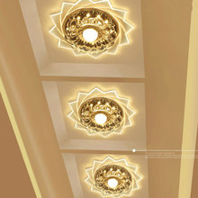 Modern LED Light Ceiling Lamp Wall Mount Light Art Gallery Decoration Front Balcony Lamp Porch Light Corridors Light Fixture aisle lights crystal chandeliers modern simple single ceiling lamp balcony lamp hall light led small porch light led fixture led