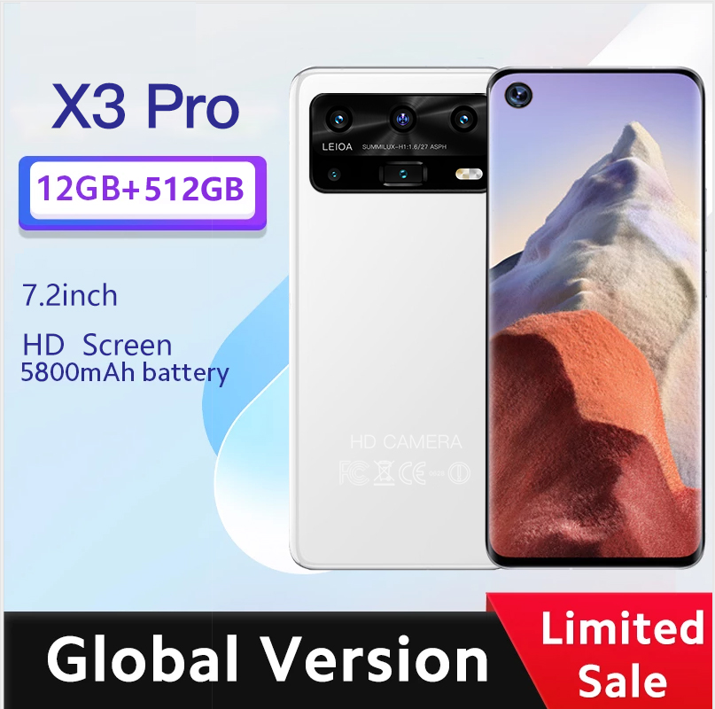 X3 Pro смартфон 7,2