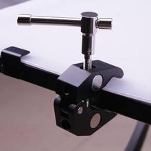 Çok fonksiyonlu yengeç pençe kelepçe maşa pense klip braketi kamera tripodu Monopod stüdyo flaş işık standı fotoğraf stüdyosu