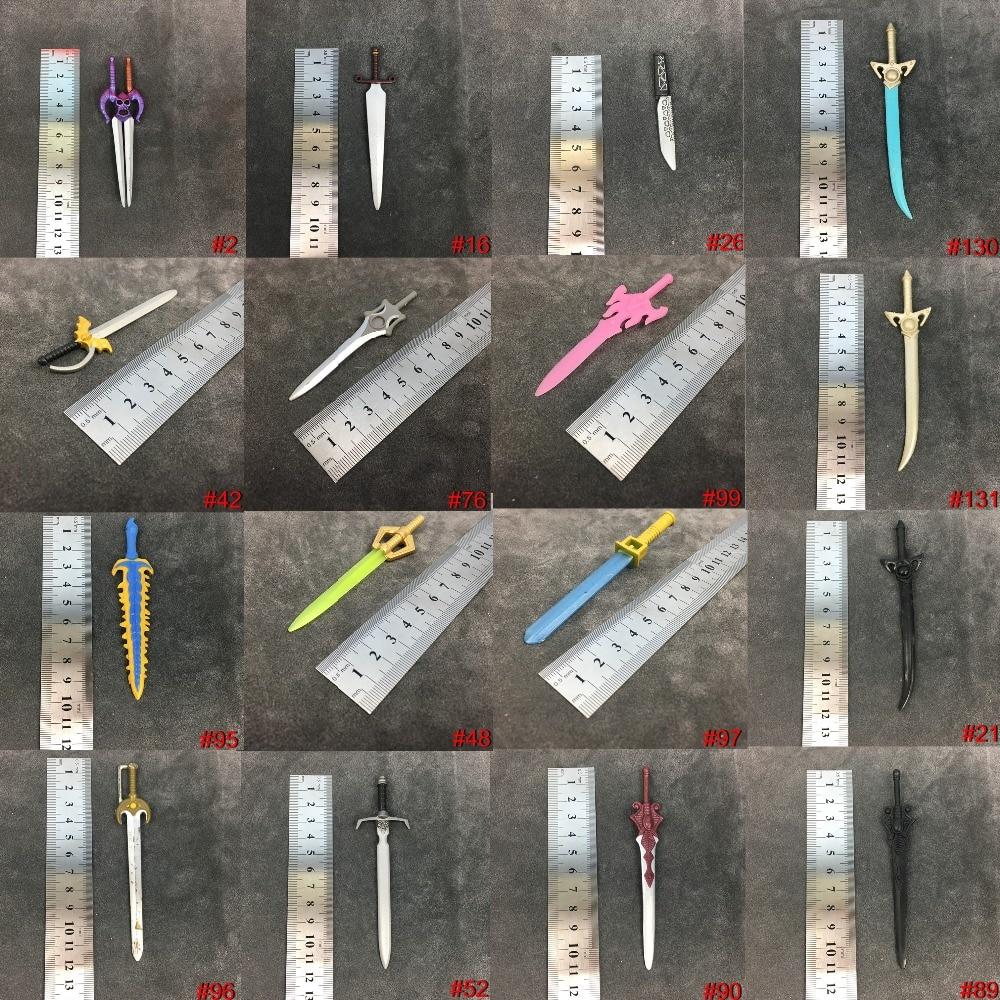 He Man MOTU Action Figure 's Accessories Weapons Sword Golden Pink Mekaneck Faker 100% Original Mattle