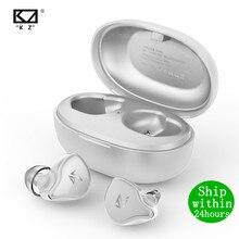 KZ S1/S1D Bluetooth 5,0 Kopfhörer TWS Drahtlose Touch Control Kopfhörer Dynamische/Hybrid Earbuds Headset Noise Sport kz zsn zsx e10